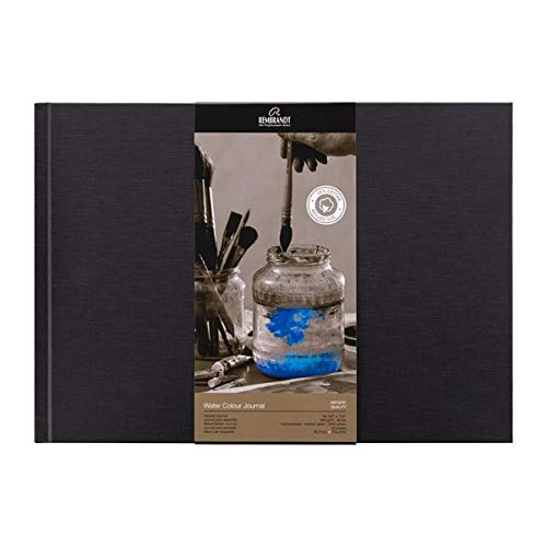 Talens Water Colour Jurnal, Hardcover gebunden, A4 quer, 200g/m², 30 Seiten