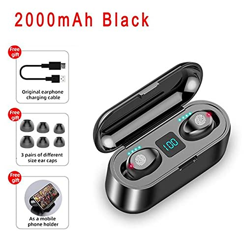 The Cartel Wireless Headphones Bluetooth5.0 with Charging Box Earphones,In-Ear Stereo With Microphone Sports Waterproof Headsets