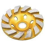 Angulo amoladora disco molienda taza rueda resistente turbo molienda ángulo de ángulo grilo disco 4 pulgadas de oro para granito piedra mármol mampostería concreto