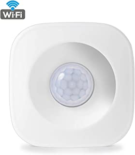 WiFi PIR Motion Sensor for Home Office Security Alarm Compatible with TUYA IFttt