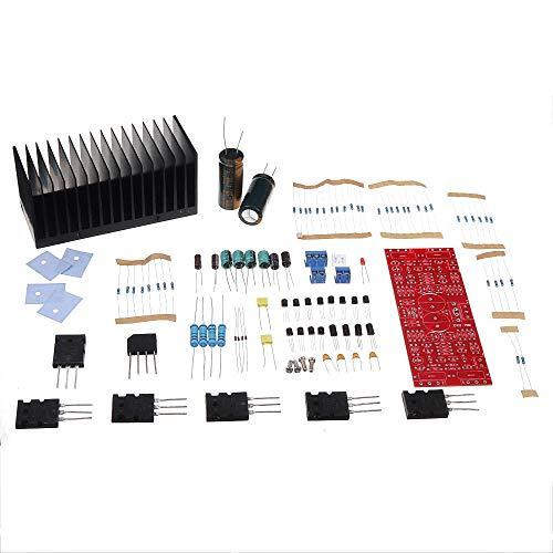 LIJDD TTA1943 TTC5200 TRANSISTRS Clase AB Amplificador de esterafonía DIY Kit MAX Power 80W por Canal Componente electrónico