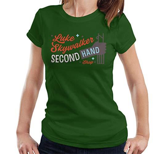 Star Wars Luke Skywalker Second Hand Shop - Camiseta para mujer