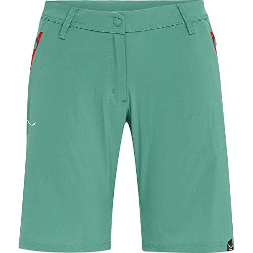 Salewa TALVENA DST W Shorts Femme, Vert (Feldspar Green), FR 48 (Taille Fabricant : 52/46)