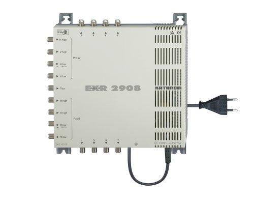 Kathrein EXR 2908 Satelliten-ZF-Vertteilsystem Multischalter (2 Satelliten, 8 Teilnehmeranschlüsse, Klasse A)