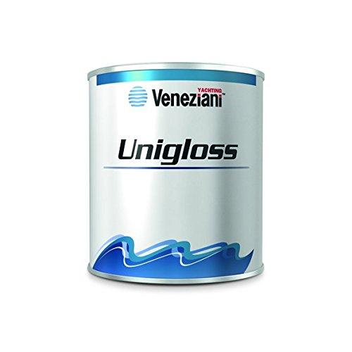 Veneziani Unigloss Smalto monocomponente, colore: 915 bianco extra, size: 2,5 lt
