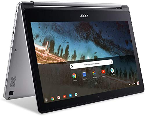 Newest Flagship Acer R13 13.3' Convertible 2-in-1 Full HD IPS Touchscreen Chromebook - Intel Quad-Core MediaTek MT8173C 2.1GHz, 4GB RAM, 32GB SSD, WLAN, Bluetooth, Webcam, HDMI, USB 3.0, Chrome OS