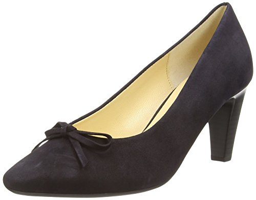 Gabor Damen Forest Pumps, Blau (Dunkelblaues Wildleder), 6 UK / 39 EU