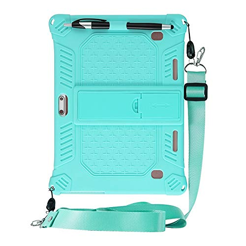 Laptop Tablette Ständer,Notebook ständer 10.1 Zoll,Kompatibel mit Dragon Touch K10/TYD-107/108/HOPLAZA/Lectrus/YOTOPT/ACEPAD A121 A12X A140 A101/Padgene/Victbing (Minzgrün)