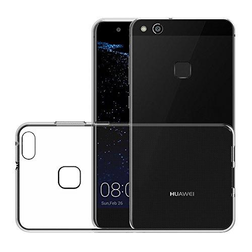 AICEK Huawei P10 Lite Hülle, Transparent Silikon Schutzhülle für P10 Lite Case Crystal Clear Durchsichtige TPU Bumper Huawei P10 Lite Handyhülle 5,2 Zoll - 4