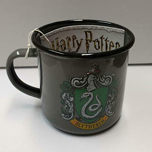 K&K Harry Potter Slytherin Metall Emaille Tasse Kaffebecher Becher Kaffeepot 350ml