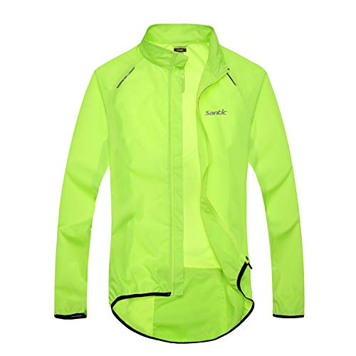 Santic Men's Cycling Skin Coat Jersey Bicycle