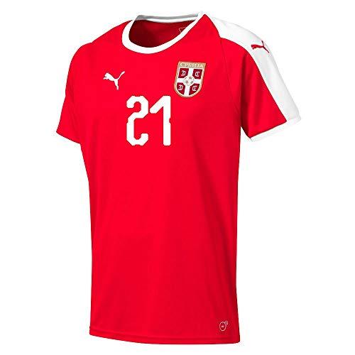 Serbien Home Trikot 2018 2019 + Matic 21 - XXL