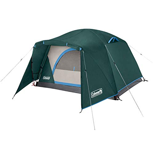 Coleman Camping Tent Skydome 2 Person Tent Full Fly Vestibule