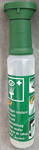 Augenspülstation und Ersatzflaschen (250ml Flasche NaCl 0,9%)