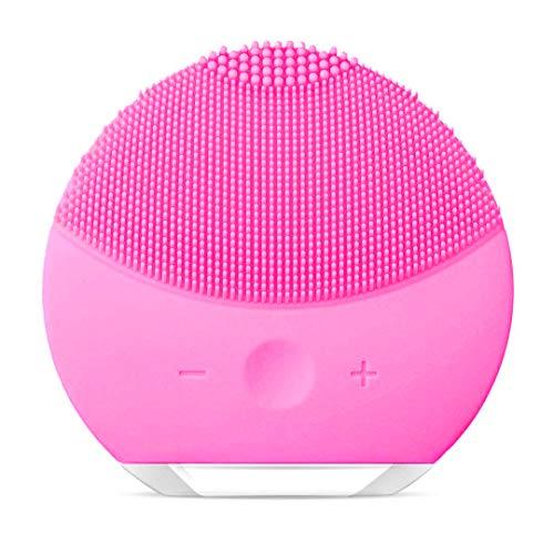xiaoyi Cepillo de Limpieza Facial, Masajeador Facial y Dispositivo de Cuidado de la piel Antienvejecimiento Para Todos los Tipos de piel (Rosa)