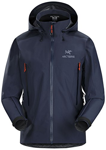 Arc'teryx Men's Beta AR Jacket, Midnight Hawk, Small