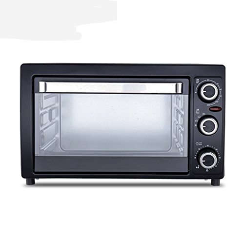 DULPLAY Toaster Oven,Best Convection,Mini,25l Large Capacity,Digital Dining,Countertop Oven Black Digital Polished Stainless Toast Home Kitchen -Black 53.6x43x35.5cm(21x17x14inch)