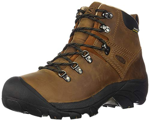 KEEN womens Pyrenees Mid Height Waterproof Hiking Shoe, Syrup, 6 US