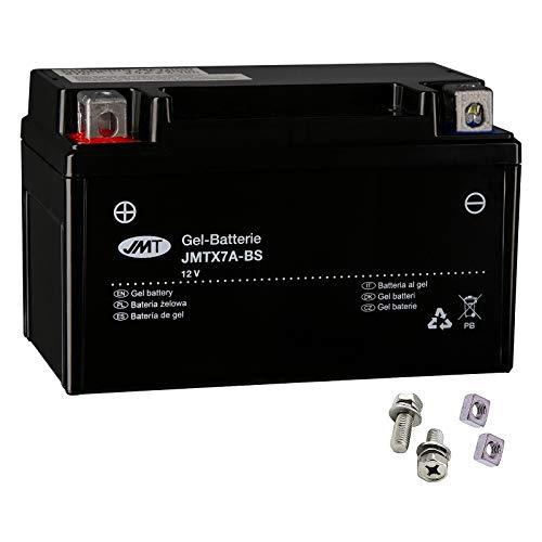 YTX7A-BS JMT Gel Batterie für Pista 50 AC R Baujahr 2016-2017