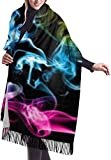 zengdou Schals Women's Winter Large Scarf Colored Smoke Silky And Comfortable Shawl Soft Scarves
