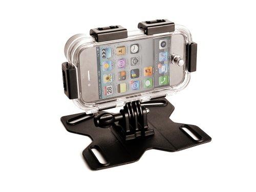 MAPTAQ Outdoor iPhone-houder Q-Mountz 4-4s schok- en vuilafstotend waterdicht IP 68, zwart, 26101