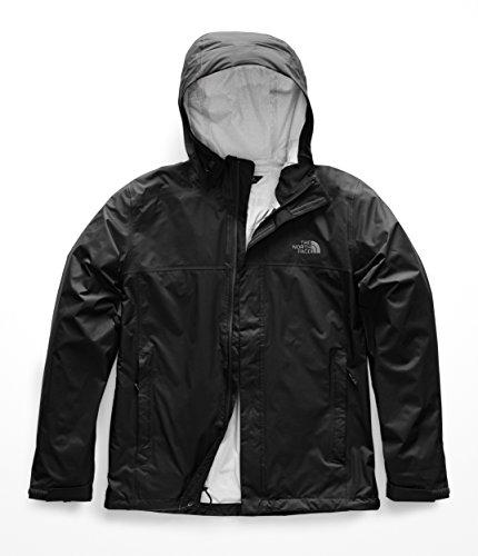 The North Face Men's Venture 2 Jacket (Past Season), TNF Black/TNF Black, Large