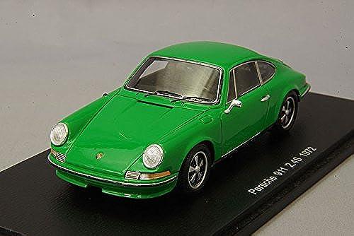 distribución global Spark Spark Spark Porsche 9112.4S 1972 Escala 1 43, s4925, verde  promociones de equipo