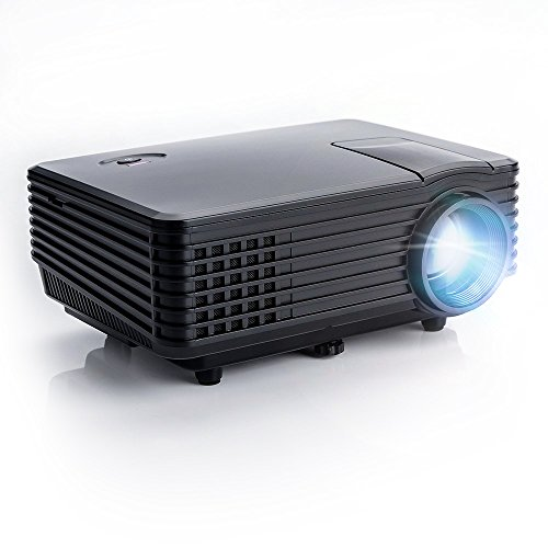 OEM H1 LED LCD (WVGA) Mini Video Projector - US Version (Includes Warranty) - Black (FP8048H1)