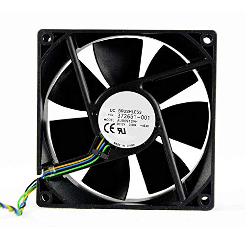 Ventilador de refrigeración de CPU para Ordenador portátil para Delta AUB0912VH-4E49 DC12V 0.6A 392185-001 9CM 9025 4pin PWM 92 * 92 * 25MM Nuevo