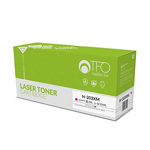 TELFORCEONE Toner vervangt compatibel met HP Color Laserjet Pro M254dw, M254nw, M280nw, M281fdn, M281fdw, T6B60A, T6B59A, T6B80A, T6B81A, T6B82A printer, laser printeraccessoires, mix magenta