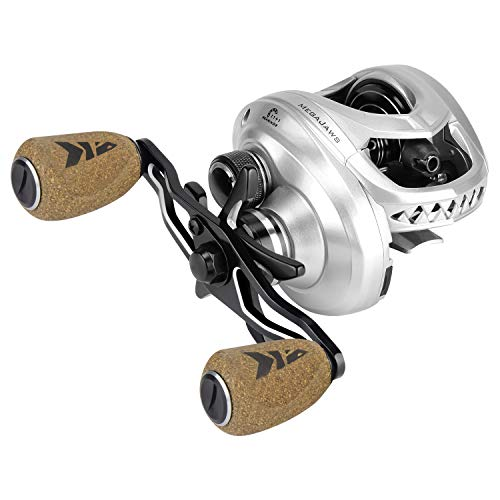 cheap Baitcasting Reel KastKing Mega Jaws, Ratio 5.4: 1, Right Fishing Reel, Great White