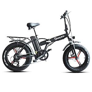 Shengmilo MX20-PLUS 500W Elektrofahrrad, 20-Zoll-Einrad-Elektrofahrrad, Fat Tire Ebike, 48V 15AH, E-Bike