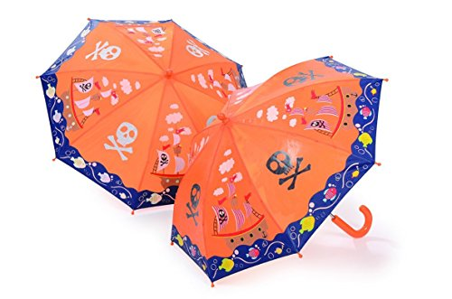Umbrella Colour changing Pirate ship by Think Pink
