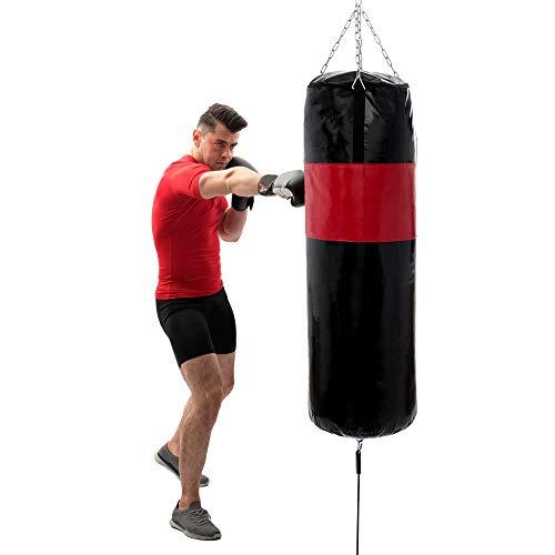 Marbo Sport Boxsack zusätzlich verstärkt 150 cm fi45cm ungefüllt + Torpedo MC-W150|45-EX