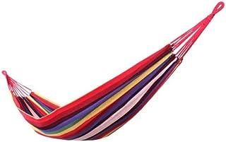 LULUD Camping Double Hammock - Multipurpose - Outdoor, Indoor, Beach, Garden, Camping - Swing Bed - Dormitory Swing - 200c...
