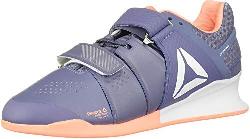 Reebok Women's Legacy Lifter Black Blue Size: 4.5 UK