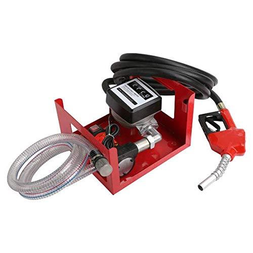Neilsen CT5261 12v Diesel Fuel Transfer Dispenser Pump - With Hose, Nozzle...