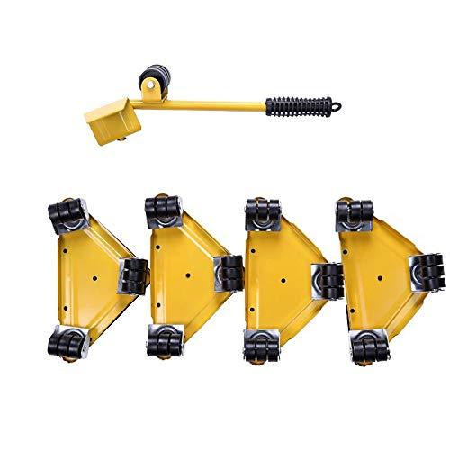 YXF,Meubilair handling base Meubilair verplaatsen artefact meubels zware bewegende mobiele handling tool universele katrol driehoek kast kast basis WoW