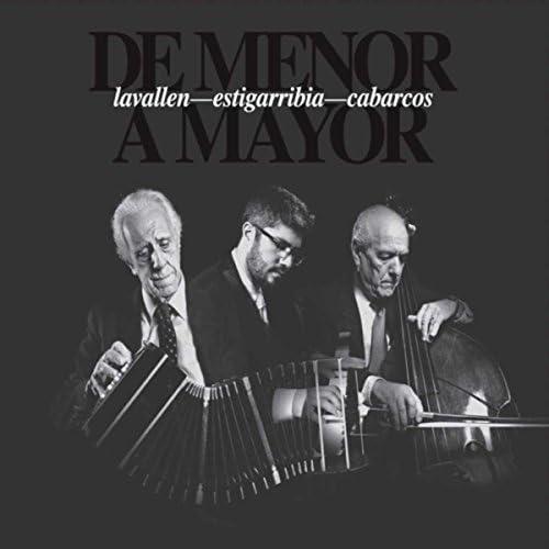 Pablo Estigarribia, Victor Lavallén & Horacio Cabarcos