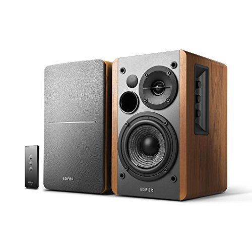 Edifier R1280T Active Bookshelf Speaker System with Remote Control and Dual...