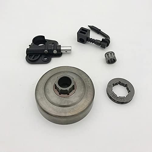 Alta calidad .325'7T piñón embrague bomba de aceite de tambor ajuste para Partner 350351 motosierras repuestos