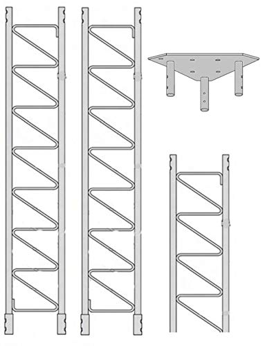 ROHN 55SS020 55G Series 20' Self Supporting Tower Kit, No Ice. Buy it now for 1388.00