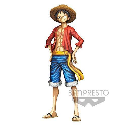 One Piece - Estatua Master Star Piece Monkey D. Luffy (Banpresto 85188)