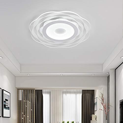 De only goede kwaliteit indoor eenvoudig en ultra slank design zonnebloemen led-plafondlamp zonder trede, demping, mode restaurant hoteldecoratie