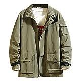 Bomberjacke Herren Fashion Japanische Multi-Pocket-Mantel Designer Hoodies Fashion Cap Jacke