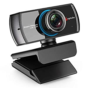 PC Webcam 1080P with Mic. USB Camera for Video Calling & Recording Video Conference/Online Teaching/Business Meeting Compatible with Computer Desktop Laptop MacBook for Windows Android iOS Linux