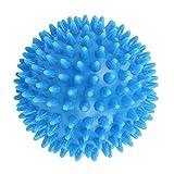 PLUY Pelota de Masaje Puntiaguda Duradera,Bola de estrés Duro de 7,5 cm para Ejercicio Deportivo (Azul Cielo)