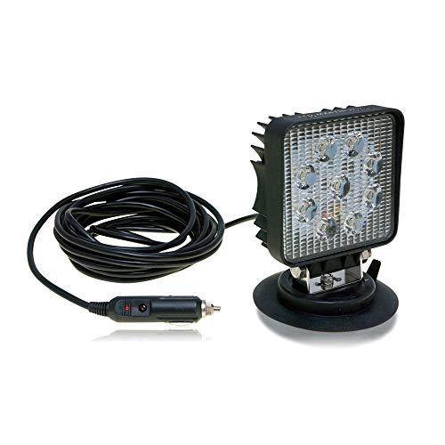 LED-MARTIN® 27W Arbeitsscheinwerfer mit Magnetfuß - 12V/24V