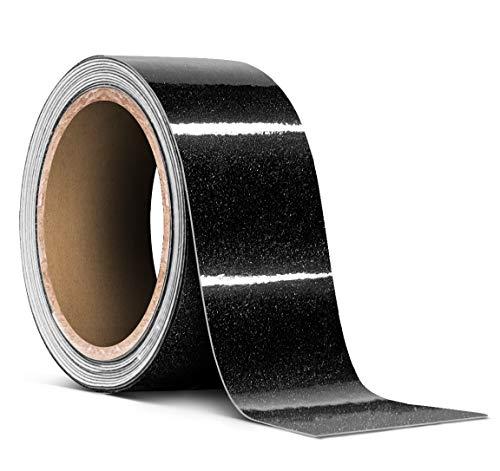 3M 1080 Metallic Black Gloss Vinyl Detailing Wrap Pinstriping Tape 20ft Roll (2 Inch x 20ft)