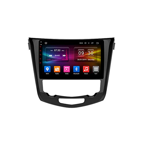 TypeBuilt Android Car Stereo Radio De Coche 9 Pulgadas Unidad Principal Reproductor Multimedia Receptor De Video Carplay para Nissan X-Trail xtrail X Trail 3 T32 2013-2016 Autoradio Mit Navi,Px6